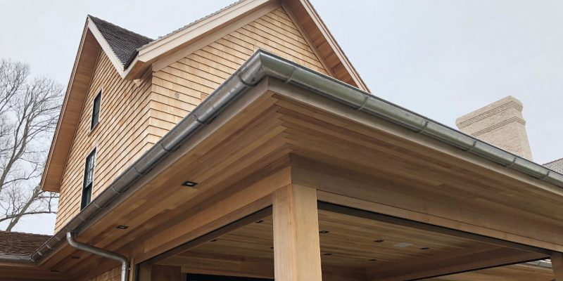 Selecting half round gutters