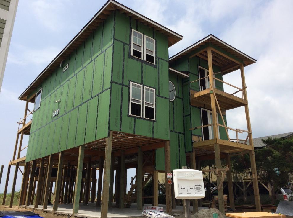 New Construction Built Beach House