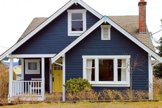 blue homes
