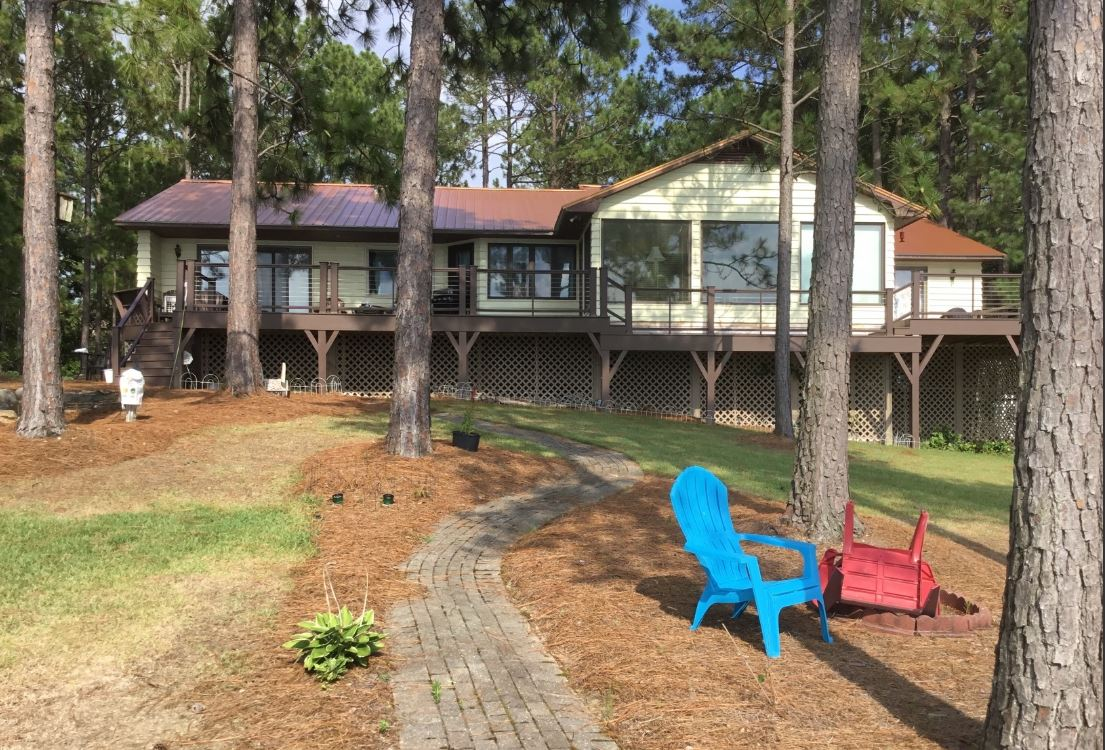 Back Deck View Prior To Remodel