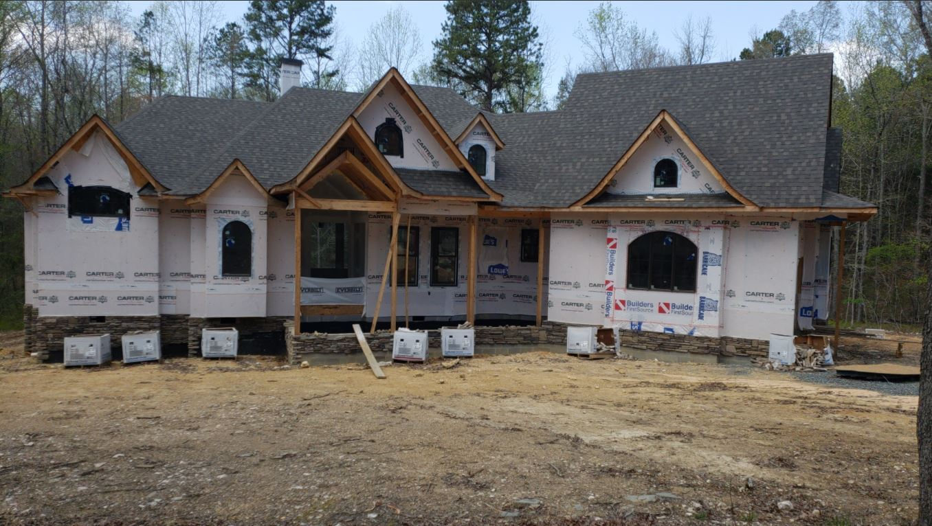 Midland, NC House Being Built