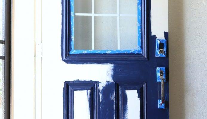 Front Entry Door Paint