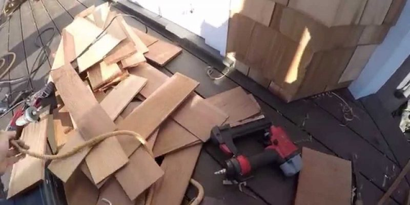 Installing Wood Shingles