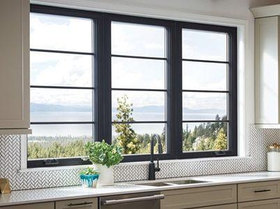 Anderson Black Window Frames