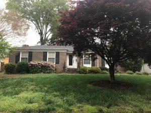 Vinyl & Brick Home in Charlotte, NC