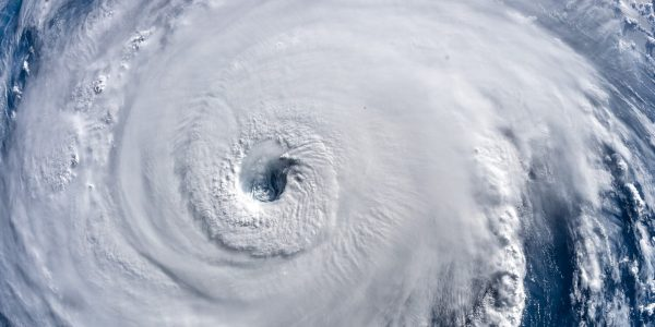 Eye of Hurrican Florence
