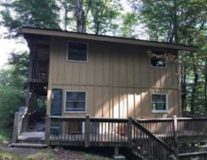 Wood Siding on Mountain Home