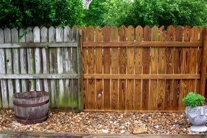 Maintaining A Wooden Fence