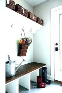 Storage Ideas for Mud Room