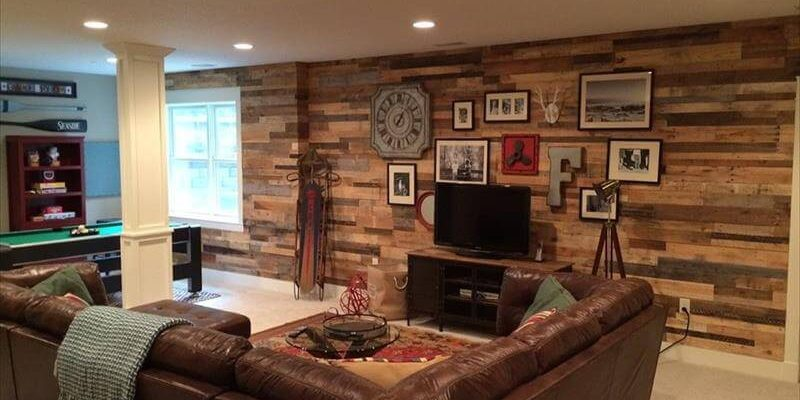Wood Recyled Walls