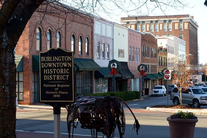 Downtown Burlington, NC