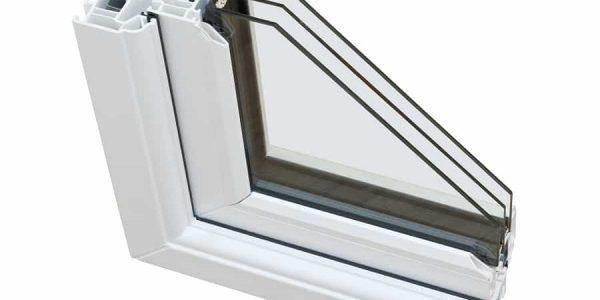 Inside Of A Triple Pane Window