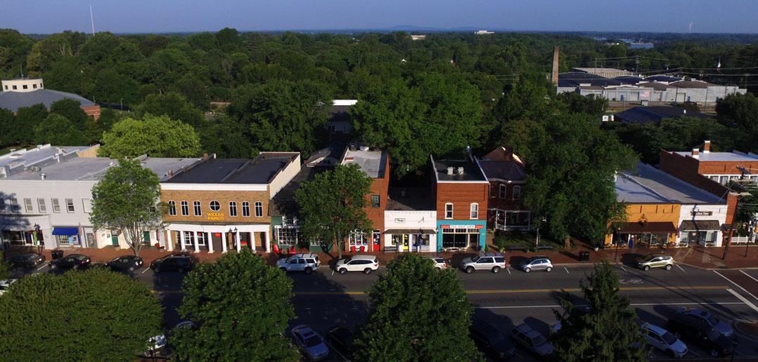 davidson town view