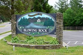 Welcome Sign To Blowing Rock