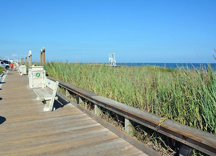 Boardwalk in Kure Beach
