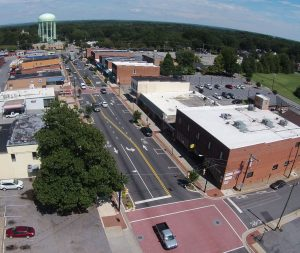 Aerial View Of Conover, NC