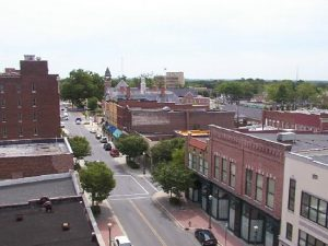 View of Rock Hill, SC