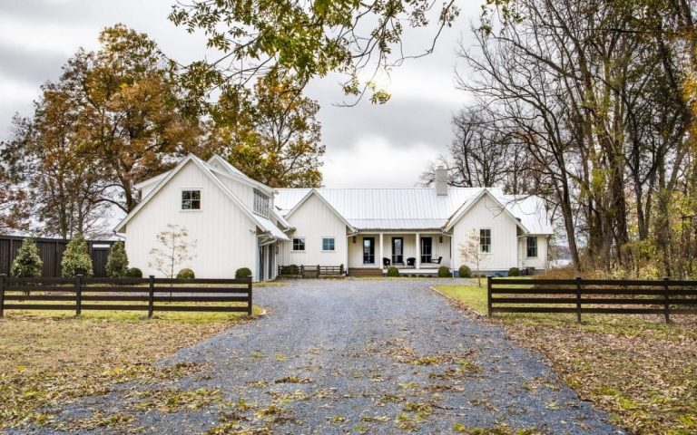 Modern Looking Farmhouse