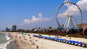 Ferris Wheel at Myrtle Beach
