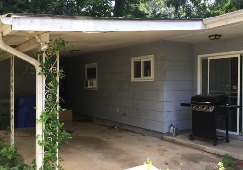 Siding Remodel Before