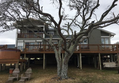 Cedar Siding In Need Of Repair