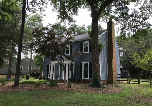 Federal House Makeover In Charlotte