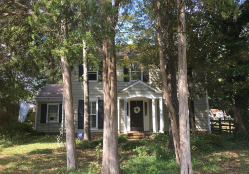Curb Appeal Update- Charlotte, NC Before