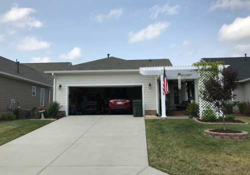 Garage- James Hardie Makeover