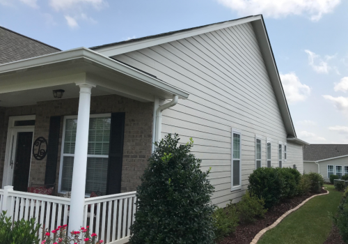 Front Right- James Hardie Makeover in Cornelius, NC