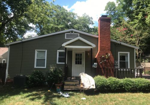 Back addition on Charlotte, NC home