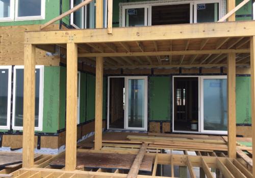 Oak island new construction home
