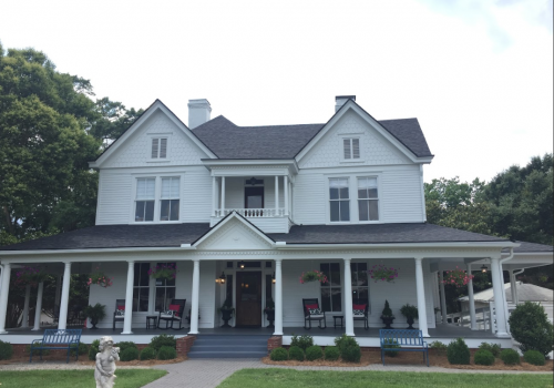 James Hardie Artic White Makeover On Historical Property