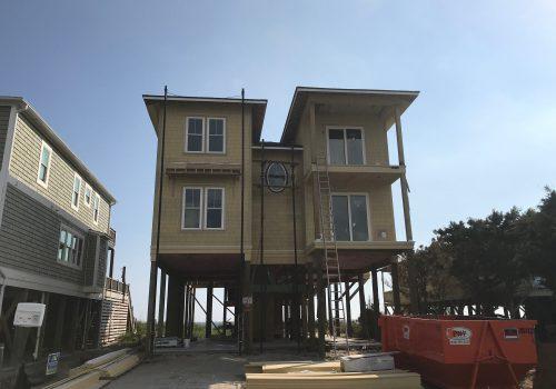 Oak Island, NC New Construction Siding Install