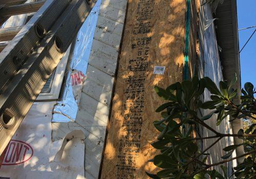 Wood Rot Repairs On Beach House