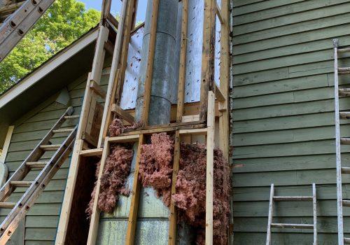 Chimney Wood Remediation