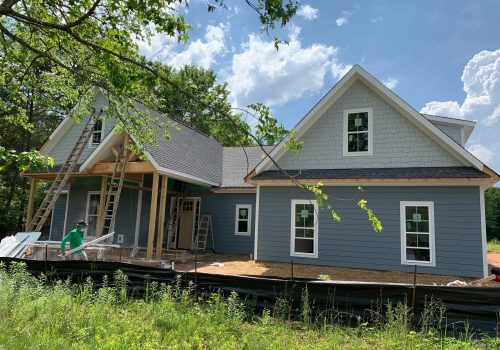 James Hardie Siding on New Home