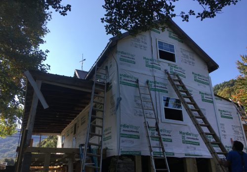 House Wrap Goes On