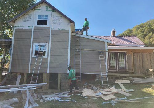Siding Going On