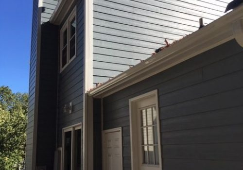James Hardie Boothbay Blue lap Siding