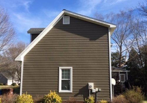 New Exterior Siding & trim