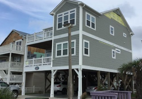 Oak Island Hurricane Damage