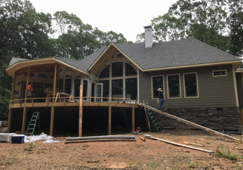 James Hardie & Canyon Stone Install In Midland, NC