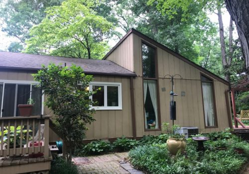 Before siding remodel