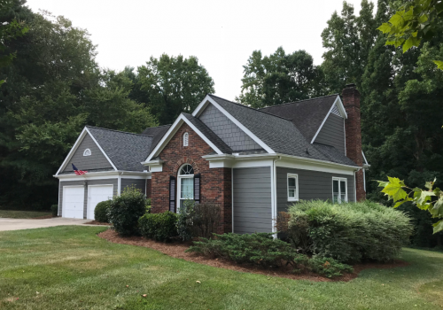 Mooresville- James Hardie Makeover After