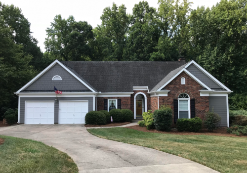 Mooresville, NC- James Hardie Makeover