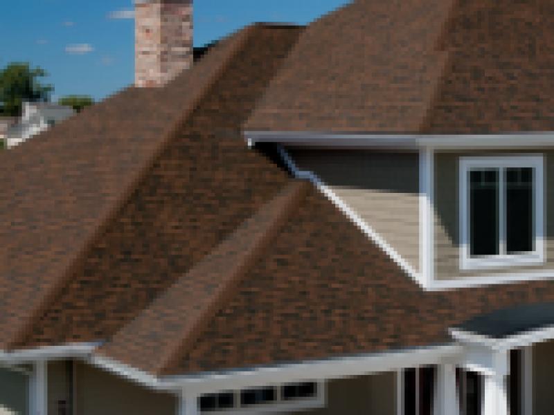 Gable roof peaks