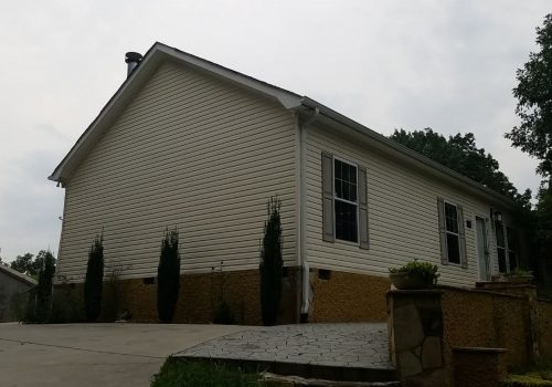 Outdated Vinyl Siding