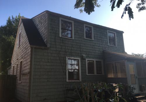 Old Neglected Cedar Home